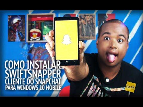 Como instalar o Cliente do Snapchat no seu Windows 10 Mobile - [Tutorial]