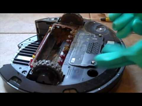 How to clean poop out of your roomba!