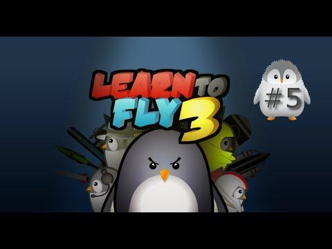 🐧 Learn to Fly 3 #5 🐧 .... wow.. was war das denn ? 🐧.. deutsch