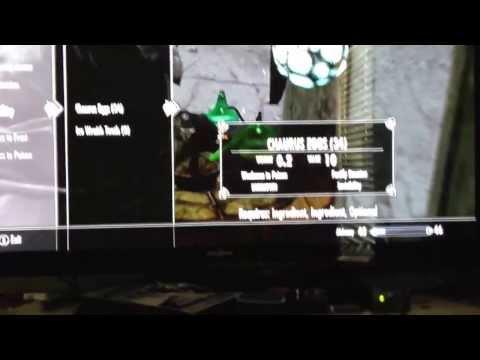 Skyrim: Invisibility potion