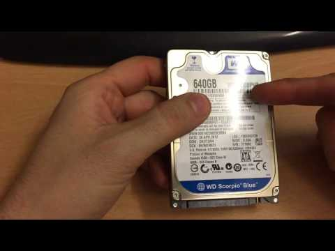 How to connect a SATA or IDE hard drive externally through a USB cable to your PC