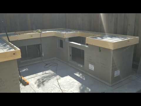 Update! Concrete countertop on my bbq island #5