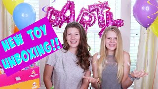 UNBOXING THE NEW PARTY POPTEENIES || Taylor and Vanessa