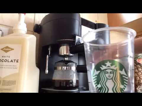 Iced White Chocolate Mocha   Starbucks Replica Recipes   YouTube