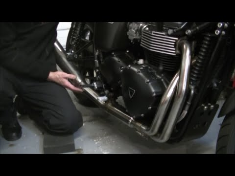 Delboy's Garage, Stainless Exhaust, Easy cleaning tip.