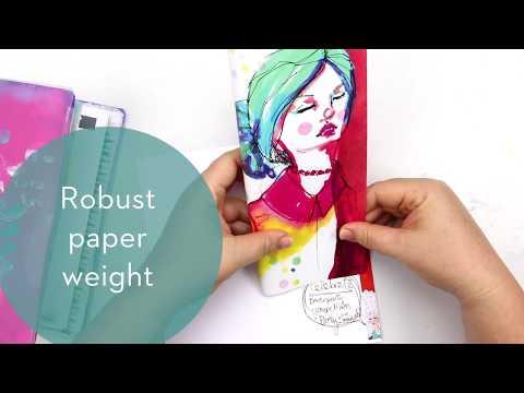 JAne Davenport Mixed Media Paper Pad