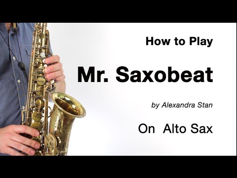 Mr. Saxobeat - How to Play the Sax Solo!!