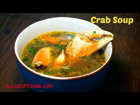 Nandu Rasam | How to make Crab Soup | Crab Rasam