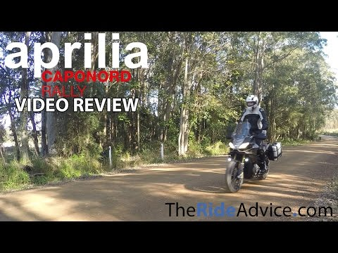 2015 Aprilia Caponord Rally Review