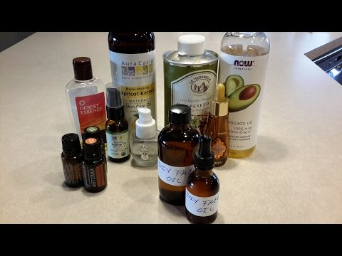 DIY Face oil blend / Anti-Aging / Great for mature or dry skin
