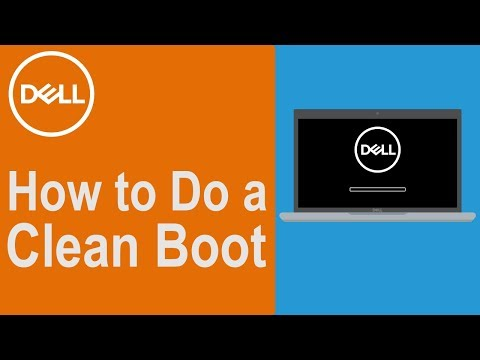 How to Perform a Clean Boot in Windows 10 (Official Dell Tech Support)
