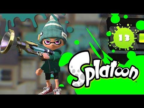 Splatoon - Finally Level 14 [Turf Wars] Wii U Gameplay, Commentary
