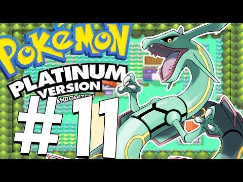 Pokemon Platinum RANDOMIZER: CATCHING RAYQUAZA!!  - PART 11