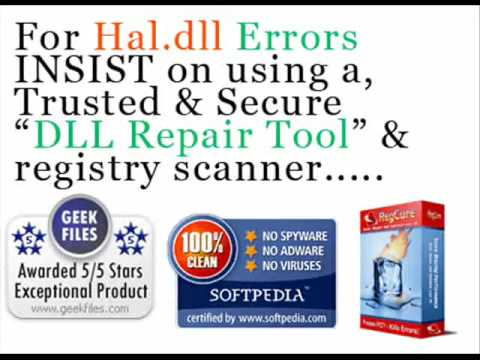 How to Fix Hal.DLL Errors