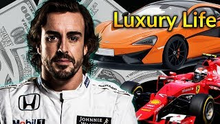 Fernando Alonso Luxury Lifestyle | Bio, Family, Net worth, Earning, House, Cars