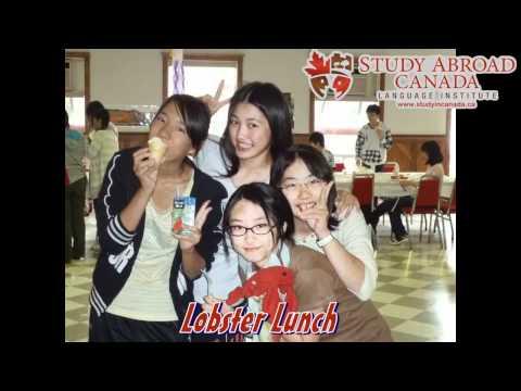 Study Abroad Canada Language Institute Hibarigaoka Gakuen 2010 Junior Vacation Program[HD]