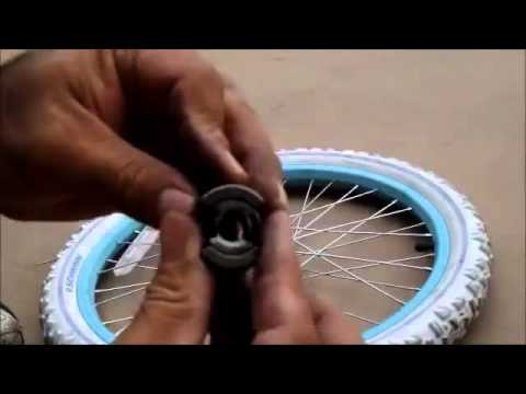 How to Repair And Rebuild A 20 inch Single Speed Hub  Bicycle Rear With Coaster Brakes