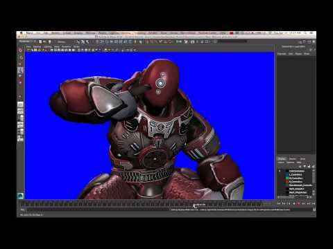 Fast Maya rendering with Viewport 2.0