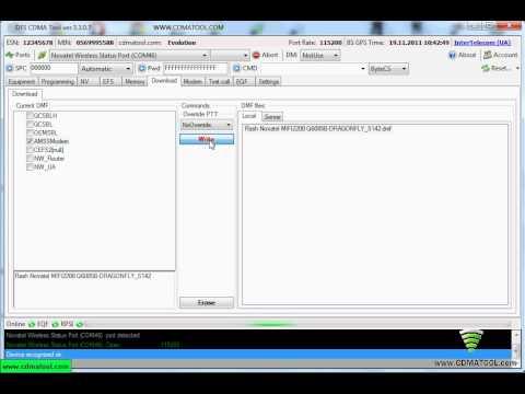 update firmware novatel mifi2200 verizon to sprint, flash novatel
