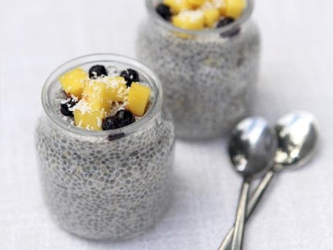 Simple Chia Seed Pudding (Yum!)