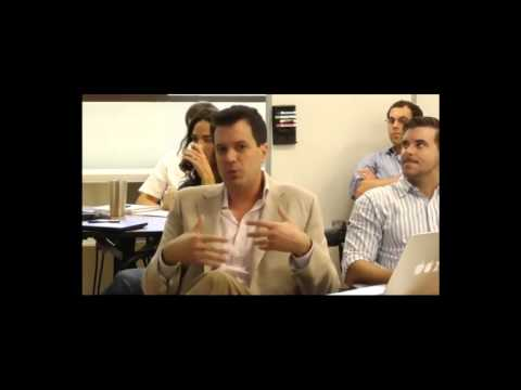 Bill Wake at Darden's Software Design Class