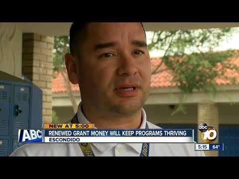 Renewed grant money will keep programs thriving