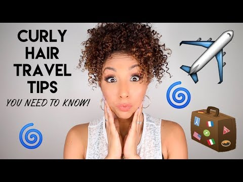 Curly Hair Travel Tips You NEED To Know! | BiancaReneeToday