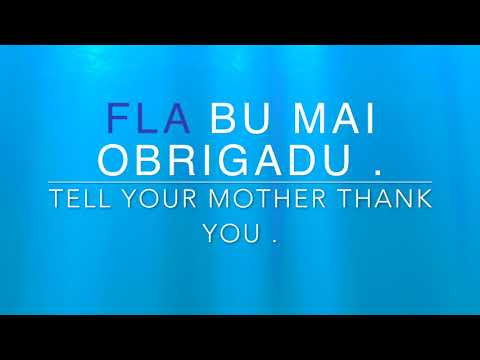 Learn Kabuverdianu ( Cape Verdean Creole ) Word of The Day - FLA