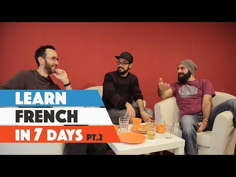 3 Average Guys Attempt To Learn French In A Working Week | Part 2