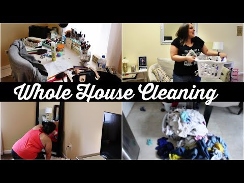 WHOLE HOUSE CLEAN WITH ME | CLEANING MOTIVATION | ALL DAY CLEANING