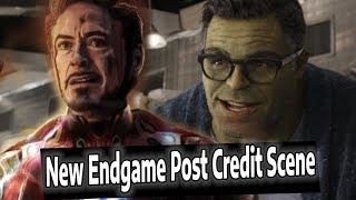Download Avengers Endgame Post Credit Scene Details & Hulk Scene Explained Video