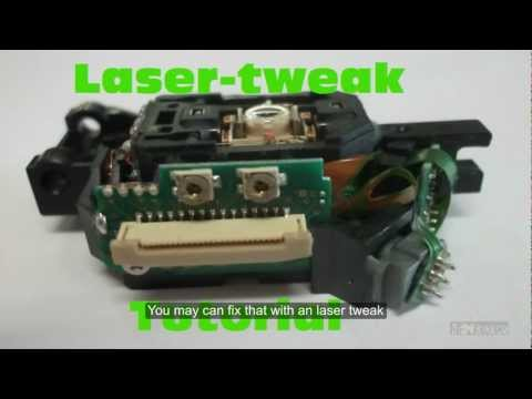 How to fix broken xbox 360 drive - Lasertweak [EN] [DE] [HD]