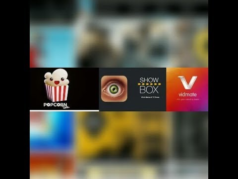 Popcorn Time, Show Box, VidMate Movie Download Wach App || Bangla