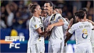 Zlatan scores hat trick, Carlos Vela scores twice as LA Galaxy defeat LAFC | MLS Highlights