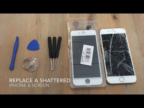 How to Replace a Shattered iPhone 6 Screen