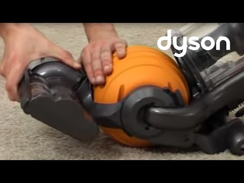 Dyson DC24 - Resetting the brush bar (Official Dyson video)