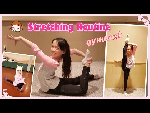 Rhythmic Gymnastics Stretching Routine for Flexibility | RG Selena