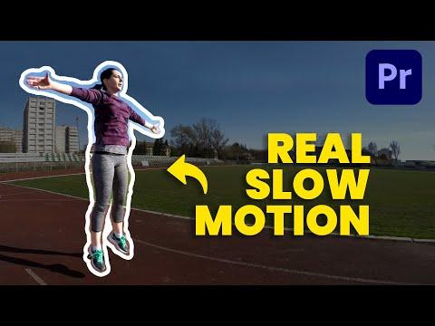 Premiere Pro Slow Motion Tutorial - How to interpret 60fps/120fps