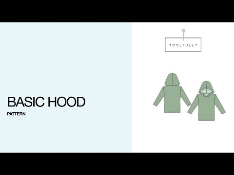 Basic hood, the pattern drafting.