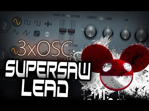 SUPERSAW LEAD TUTORIAL + PRESET [FREE DOWNLOAD]