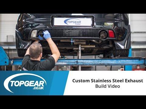 Topgear Custom Stainless Steel Exhaust - Build Process