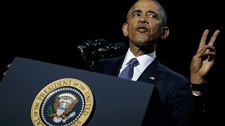 """"""" America is a better, stronger place """" says Obama in farewell speech"""