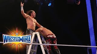 Fatal 4-Way Raw Tag Team Title Ladder Match: WrestleMania 33 (WWE Network)