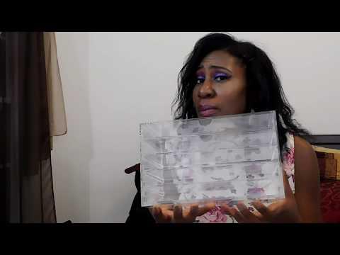 Unboxing Video BUDGET Acrylic makeup organizer | Amazon Acrylic Organizer | Makeup Organization