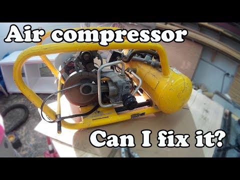 Broken DeWalt Air Compressor:  Worth Repairing?
