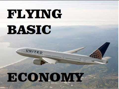 Flying United Airlines Basic Economy from Washington DC to Houston, Texas