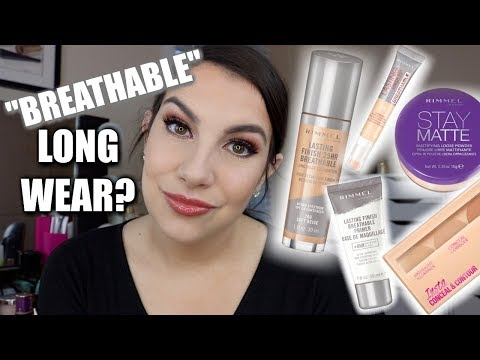 NEW Rimmel Lasting Finish & More... Reviews & Wear Test!