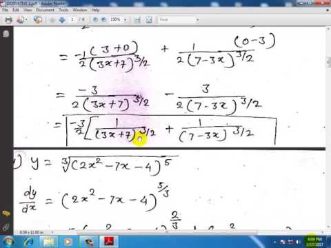 derivative in hindi 12th standard maths in hindi ( differentiation ) lecture 1