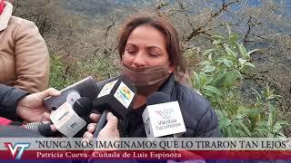 Hallaron el cuerpo de Luis Espinoza en Catamarca