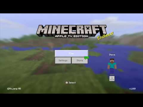 Minecraft Apple TV Edition Gameplay #1 - Alexander Bosko